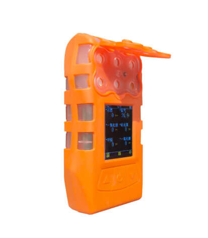 S370  portable pump suction type 6 in1 gas detector