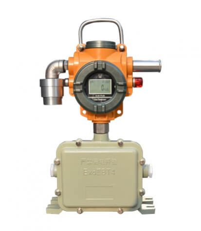S400-W fixed gas detector + mobile battery